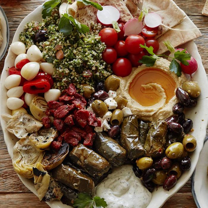 Mediterranean-Platter